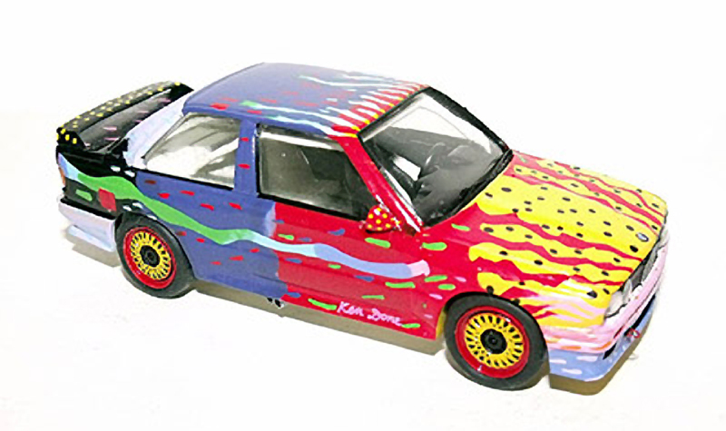 automodelli ken done bmw art car, 1:43 scale models, kit