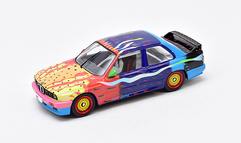 ixo ken done bmw art car, 1:43 scale models, diecast