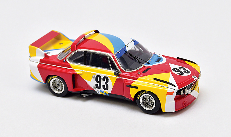 provence moulage alexander calder bmw art car, 1:43 scale models, racerhead build