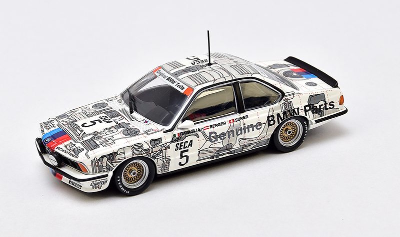 minichamps bmw 650csi spa