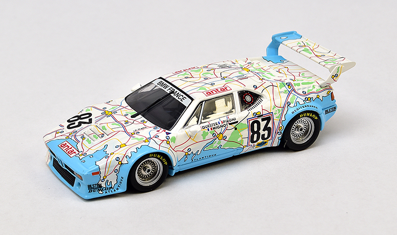 minichamps bmw m1 map of france