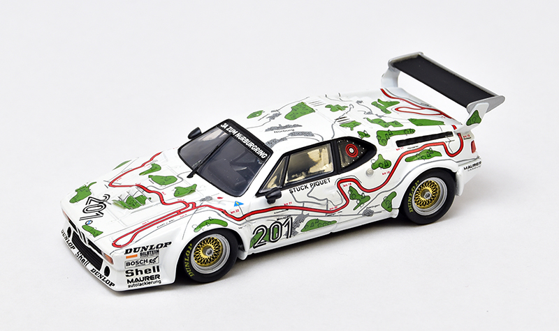 minichamps bmw m1 map of nurburgring