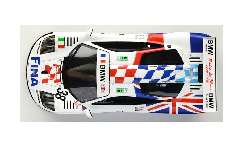 tsm mclaren f1 bigazzi british & french flags