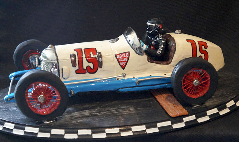miller vintage racer, car-toons by booth