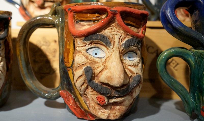 mug, car-toons by booth