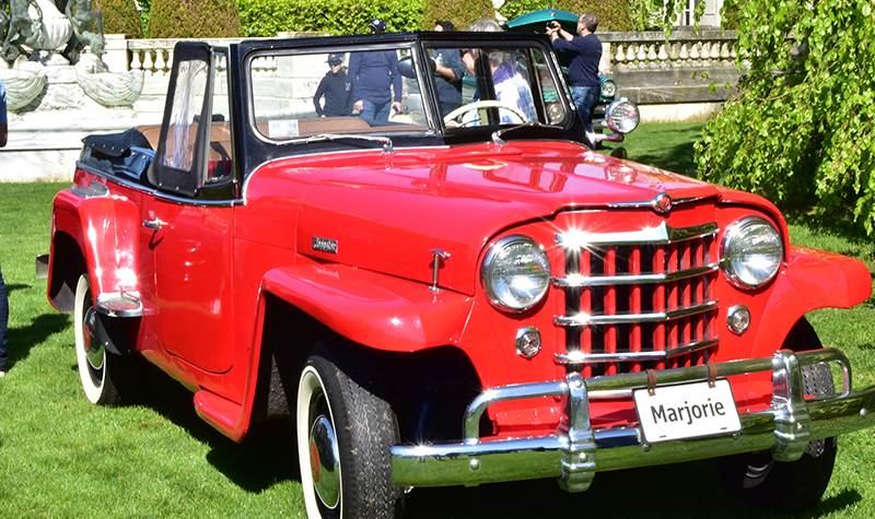 marjorie the jeepster