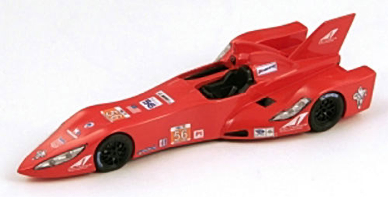 The DeltaWing at its introduction as a sports car. By Bizarre.
