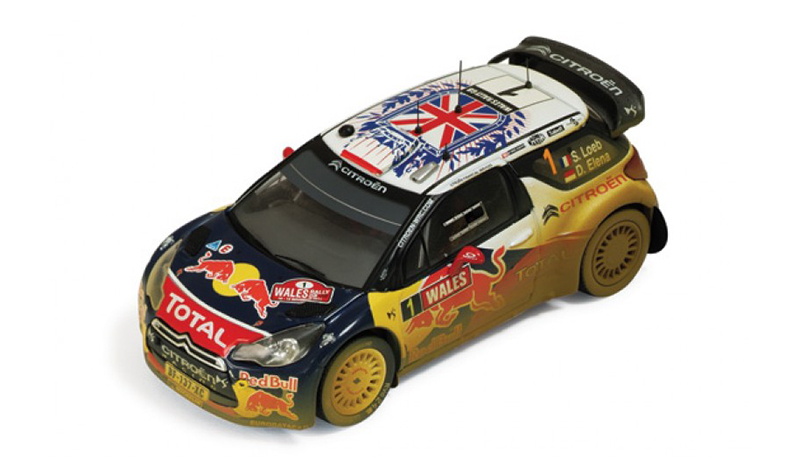 ixo citroen ds3 wrc british rally11 dirty