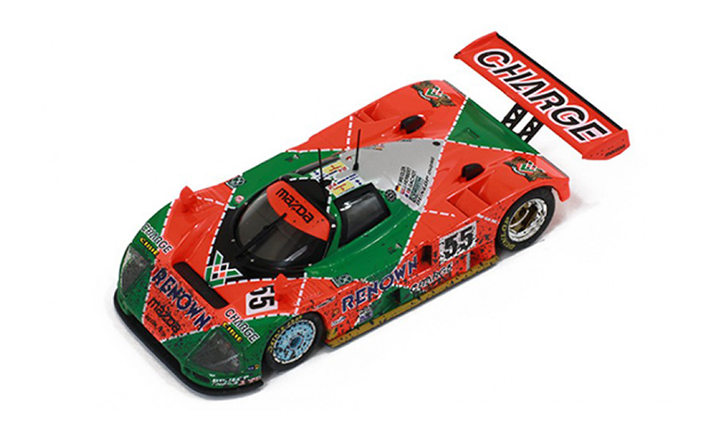 ixo mazda 787b lm91 winner dirty