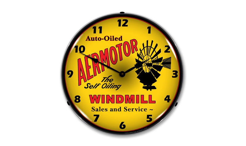 aermotor clock from jack&friends