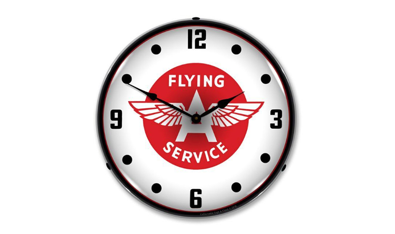 flying a service clock from jack&friends
