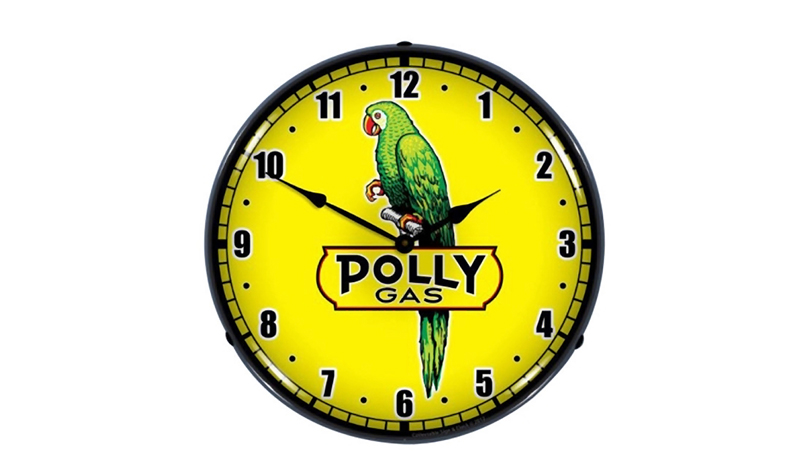polly gas clock from retroplanet