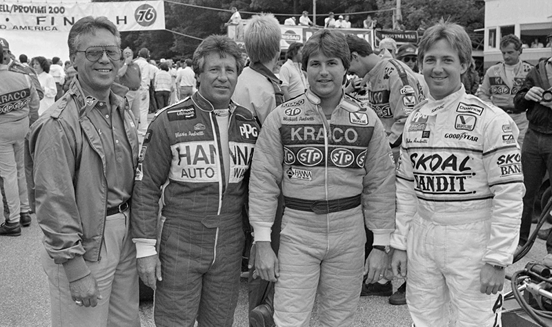 andretti-family   from the greatest racing archive of all time