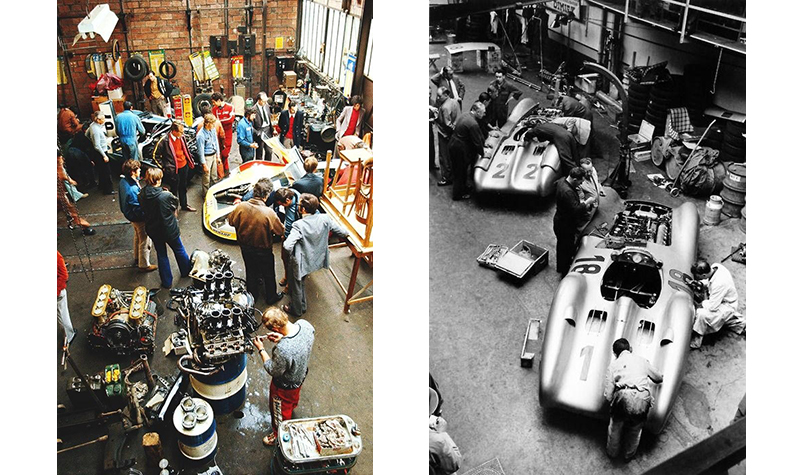 workshops   from the greatest racing archive of all time