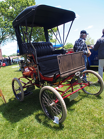 early motor carriage