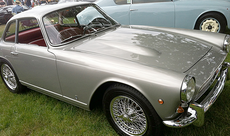 triumph tr4 rebodied by italy