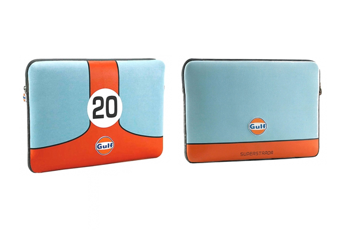 Gulf laptop computer sleeve -- Gulf Collectibles