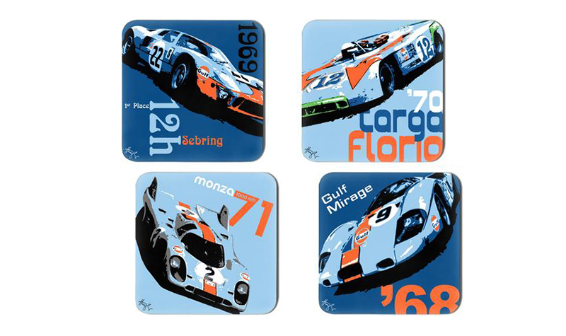 hunziker gulf coasters -- Gulf Collectibles