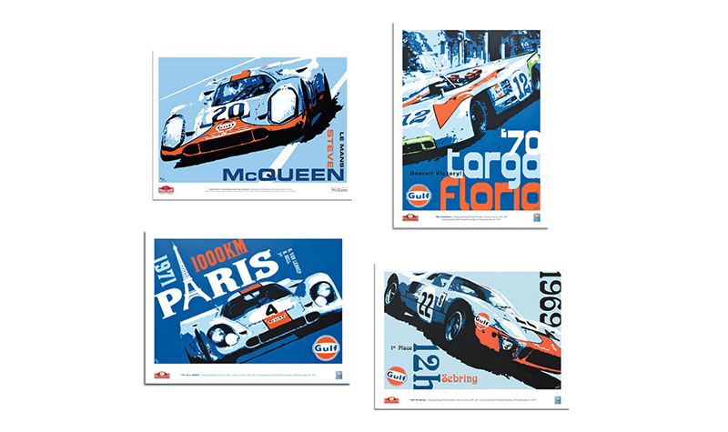 hunziker posters -- Gulf Collectibles