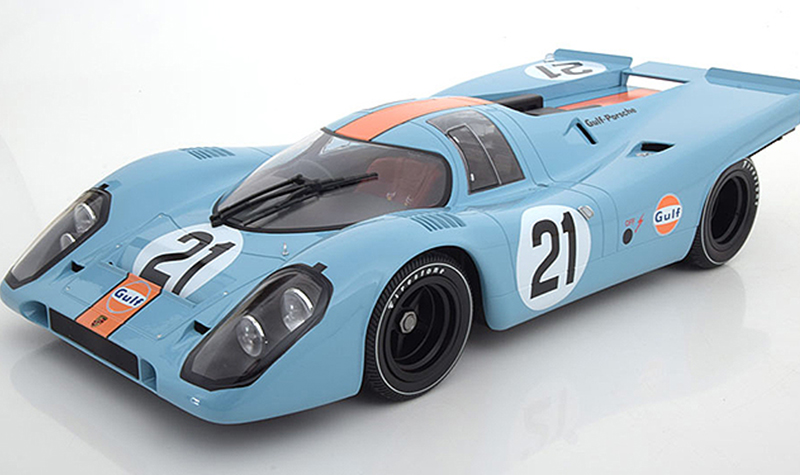 minichamps porsche 917 1_12th scale -- Gulf Collectibles