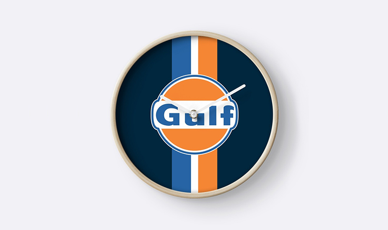 redbubble gulf clock striped -- Gulf Collectibles