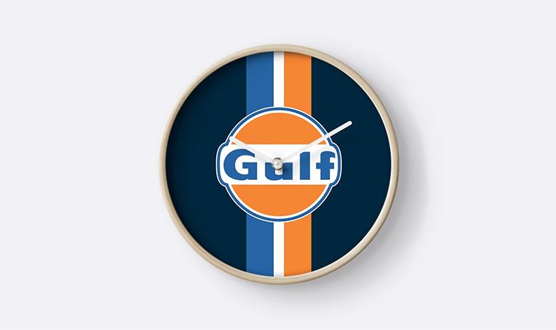 redbubble gulf clock striped -- Gulf Collectibles