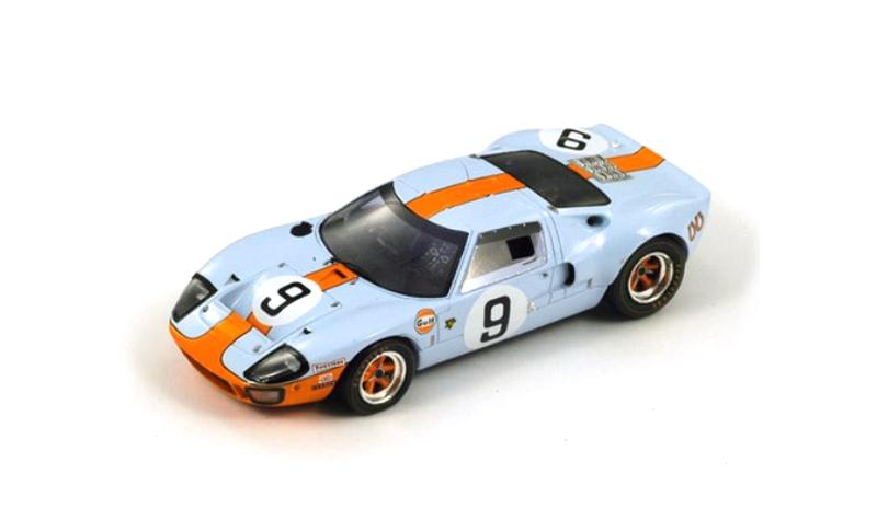 1968 spark ford gt40 lemans winner