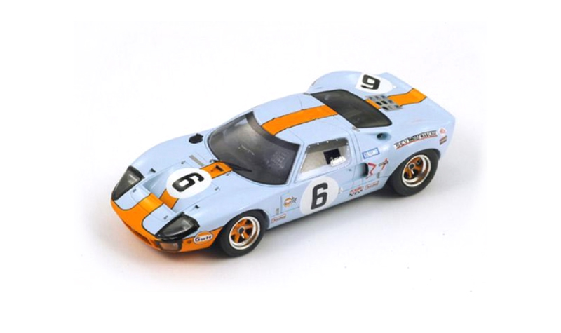 1969 spark ford gt40 lemans winner
