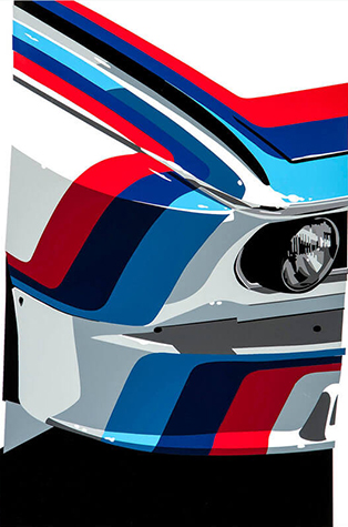 Speedicons-BMW-M  Motorsport art by Joel Clark