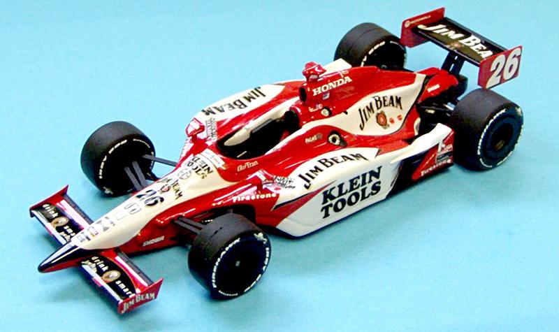 Formula Models Dallara IR-05 Wheldon05