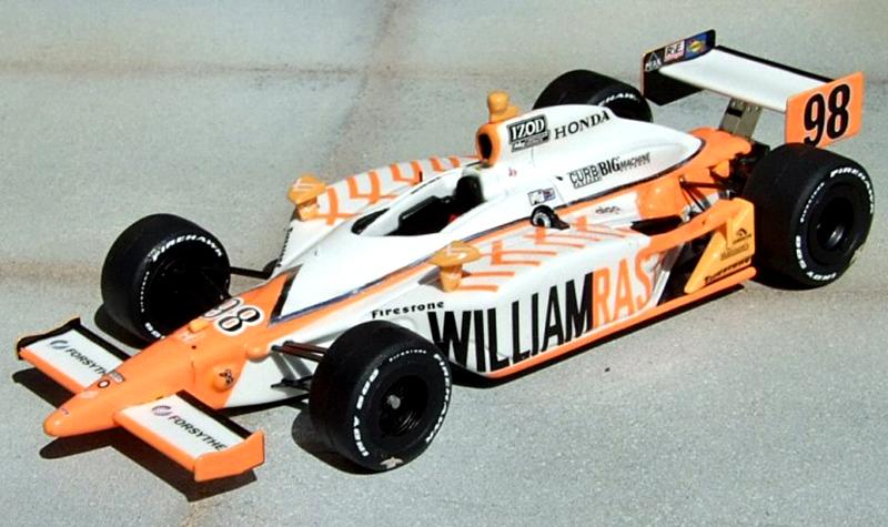 Formula Models Dallara IR-05 Wheldon11