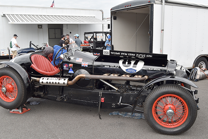 1929 stutz pikes peak special at the lime rock vintage festival 2018