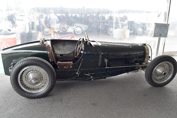 1933 bugatti type 59 at the lime rock vintage festival 2018