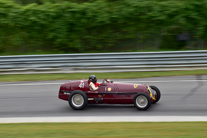 1935 alfa-romeo 8c at the lime rock vintage festival 2018