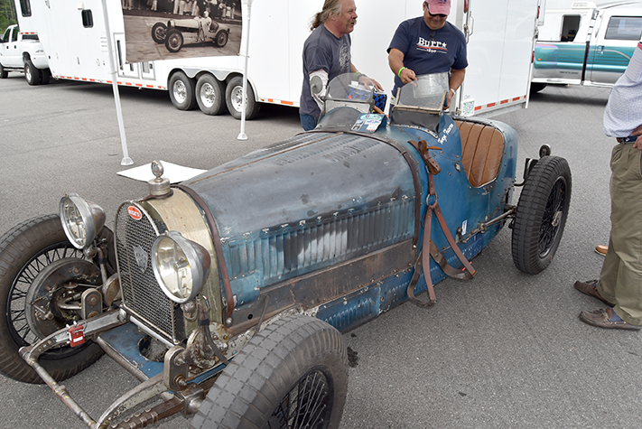 bugatti patina at the lime rock vintage festival 2018