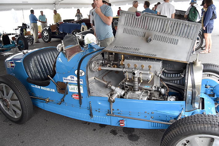 1927 bugatti t37a at the lime rock vintage festival 2018