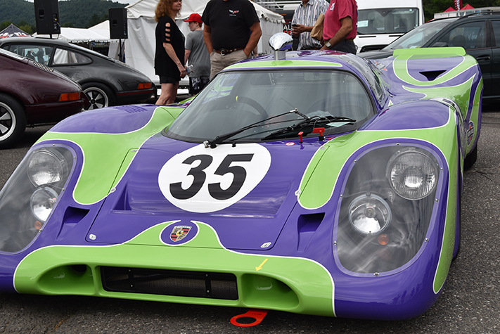 1970 porsche 917 at the lime rock vintage festival 2018