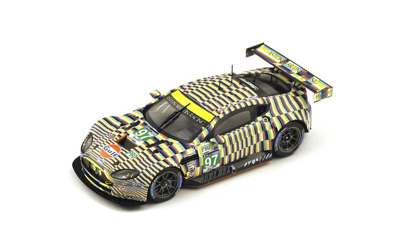 spark aston martin lemans 2015, more art car models in 1:43 scale