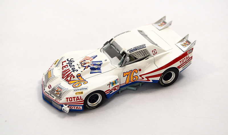 bizarre corvette spirit of 76, more art car models in 1:43 scale