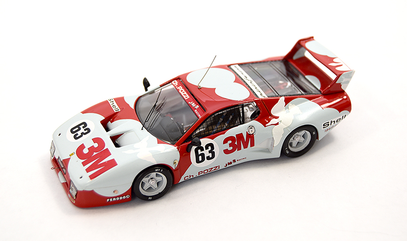 best ferrari 512bblm, more art car models in 1:43 scale