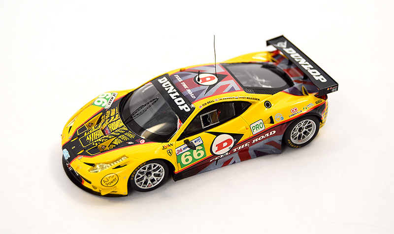 fujimi ferrari dunlop, more art car models in 1:43 scale