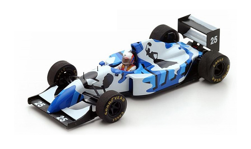 spark ligier js39, more art car models in 1:43 scale