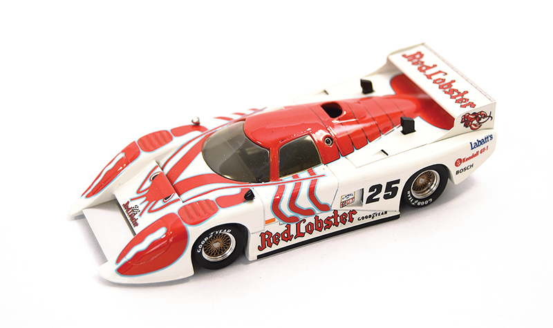 marsh models march red lobster, more art car models in 1:43 scale