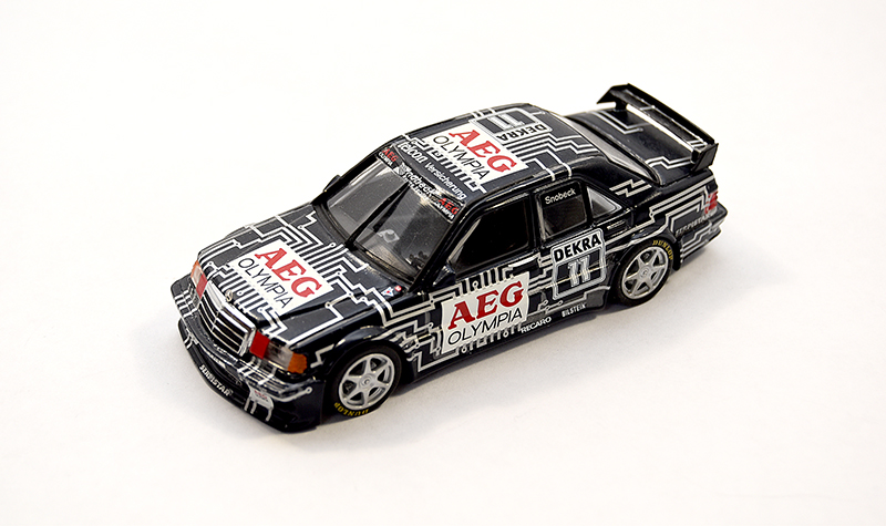 minichamps mercedes 190e, more art car models in 1:43 scale