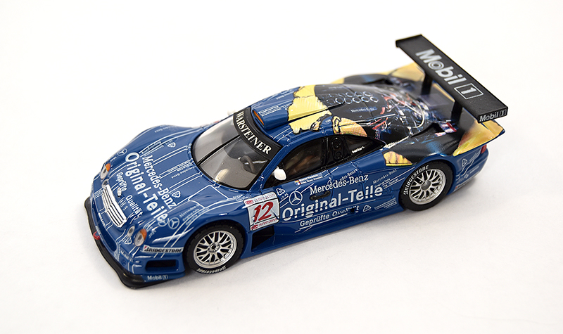 maisto mercedes clk mobil, more art car models in 1:43 scale
