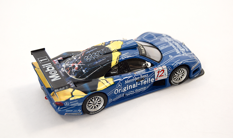 maisto mercedes clk mobil2, more art car models in 1:43 scale