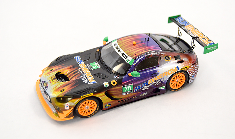 spark mercedes slr sunenergy, more art car models in 1:43 scale