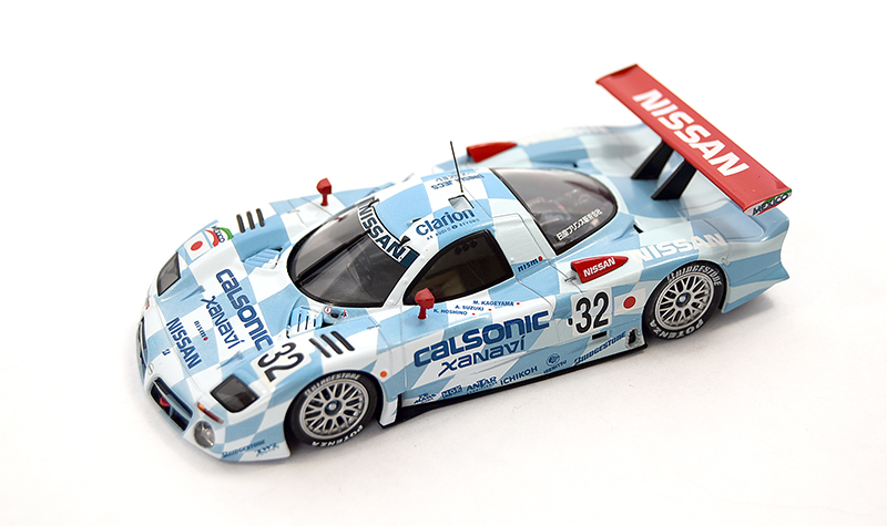 nissan r381 gt1, more art car models in 1:43 scale