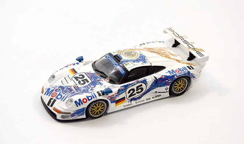 minichamps porsche 911 gt1, more art car models in 1:43 scale