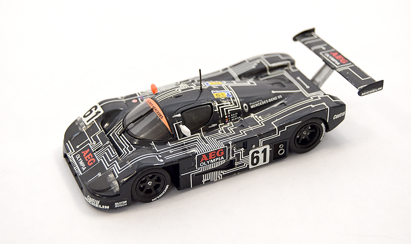 minichamps saube rmercedes  aeg, more art car models in 1:43 scale